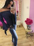 Dámské slim džíny Foggi Jeans s krystaly