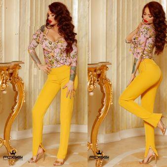 Dámské kalhoty FOGGI Yellow