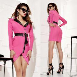Dámské růžové šaty Foggi DANGER