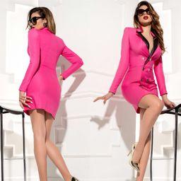 Dámské růžové šaty Foggi OFFICE